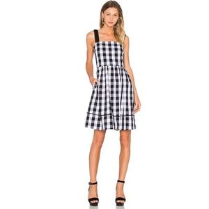 Kate Spade Broome Street Gingham Plaid Dress 6